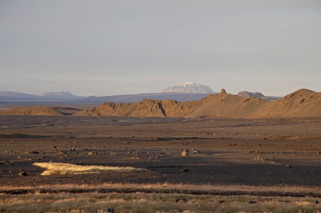 Herbst auf Island - Herdubreid, die Königin der isländischen Vulkane