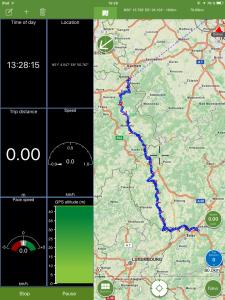Navigation, ViewRanger, Echtzeitinformationen