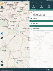 Navigation, Pocket Earth, Gruppierung von Tracks