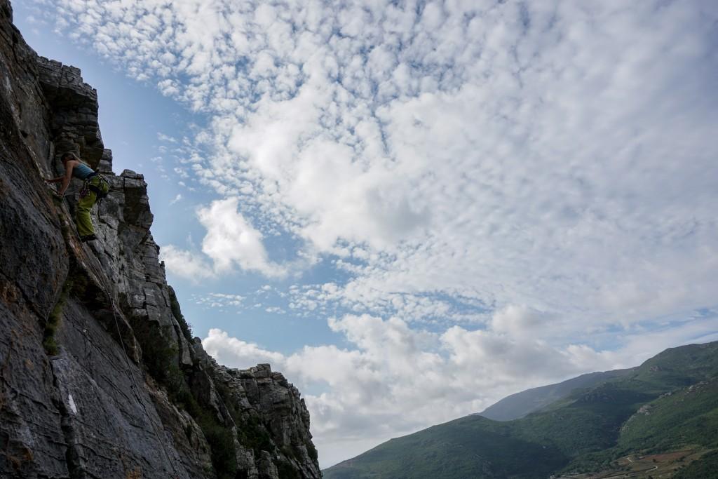Klettern - 1h nach Ankunft auf der Insel!