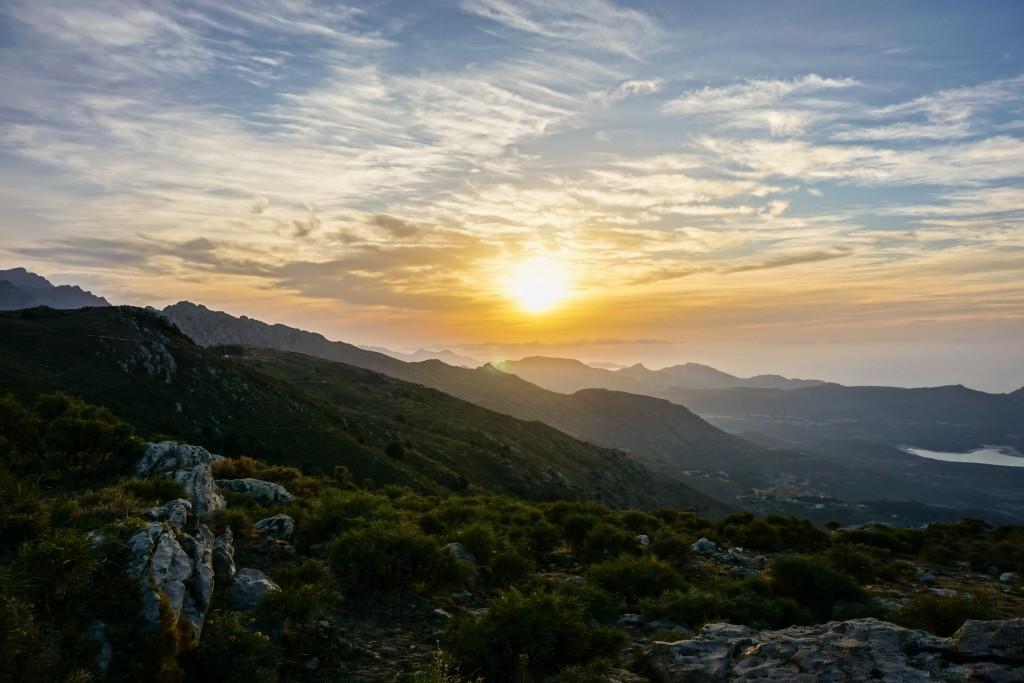 Bergparadies Korsika - von der Piste fotografiert