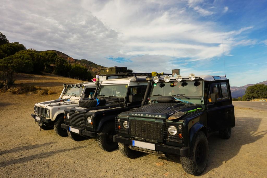 Drei Schönheiten auf dem Weg in den Süden Korsikas