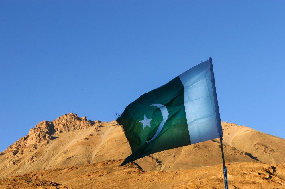 Grenze zu Pakistan