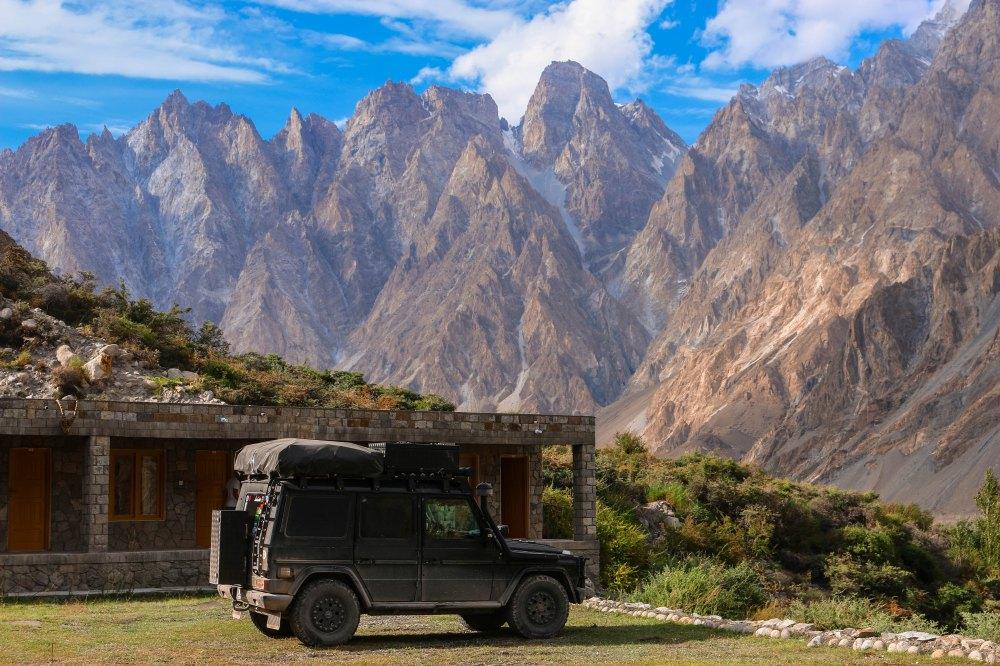 Passu Cones, Karakoram-Highway