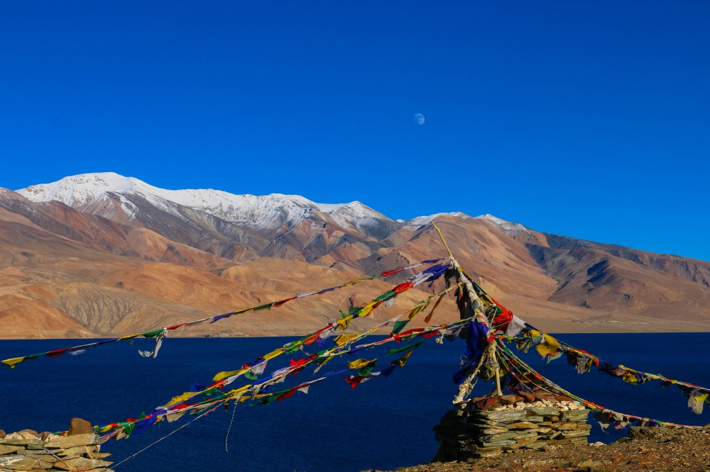 Tso Moriri in Ladakh, Indien