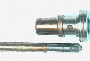 Diesel und Zweitaktöl, Bosch-Dienst Steitz, Injektor Ölschaden