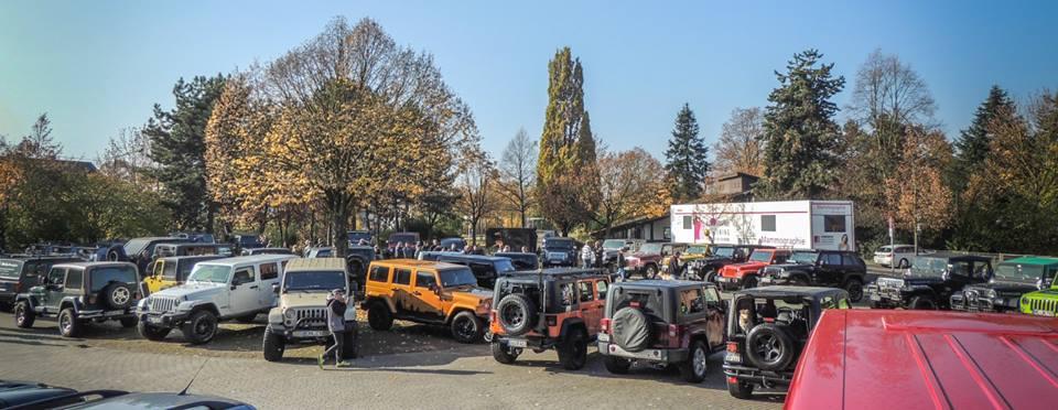 Jeep-Treffen.de auf dem Marktplatz in St. Augustin Buisdorf