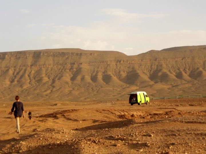 Mit dem Bulli in der Wüste, Marokko