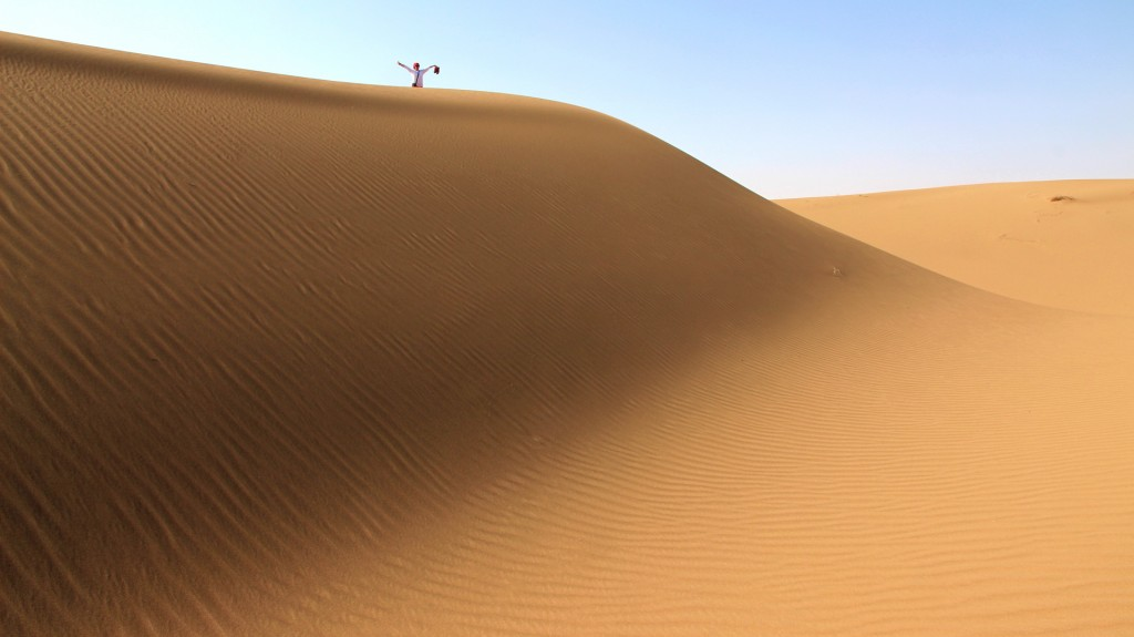 Sanddünen in der Kavirwüste