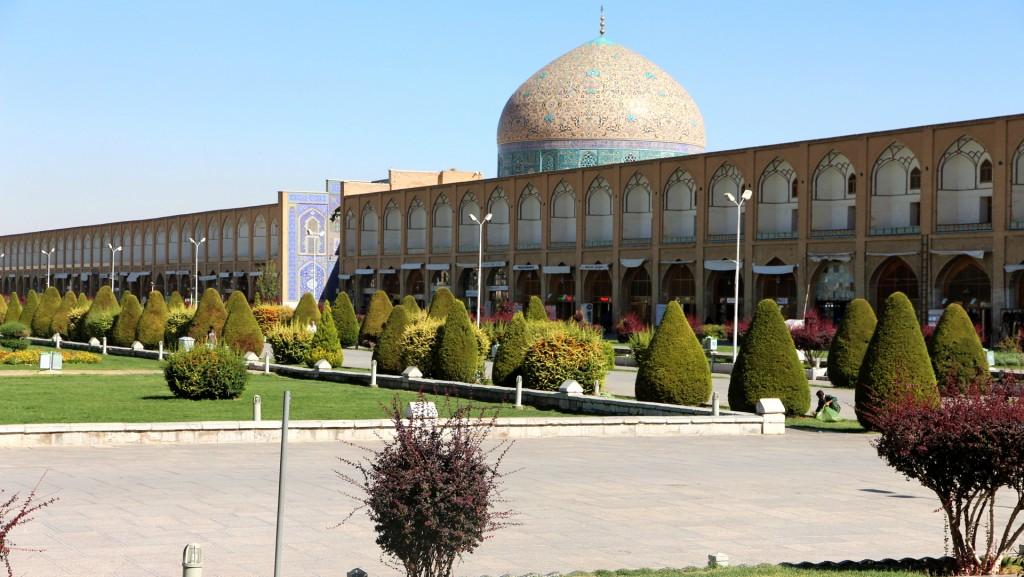 Lotfolla-Moschee am großen Imam-Platz in Esfahan