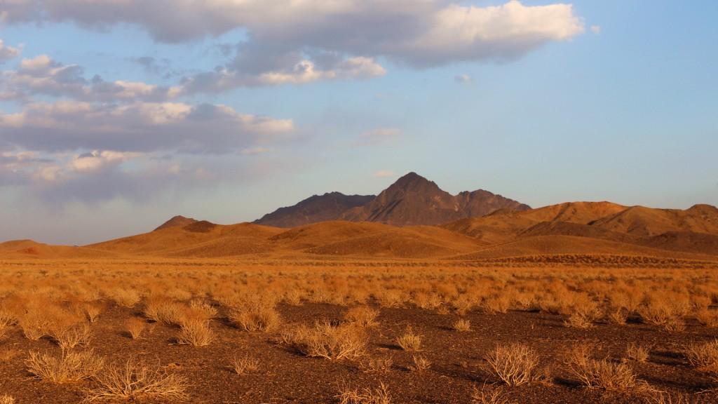Immer wieder finden wir traumhafte Übernachtungsplätze in der Wüste
