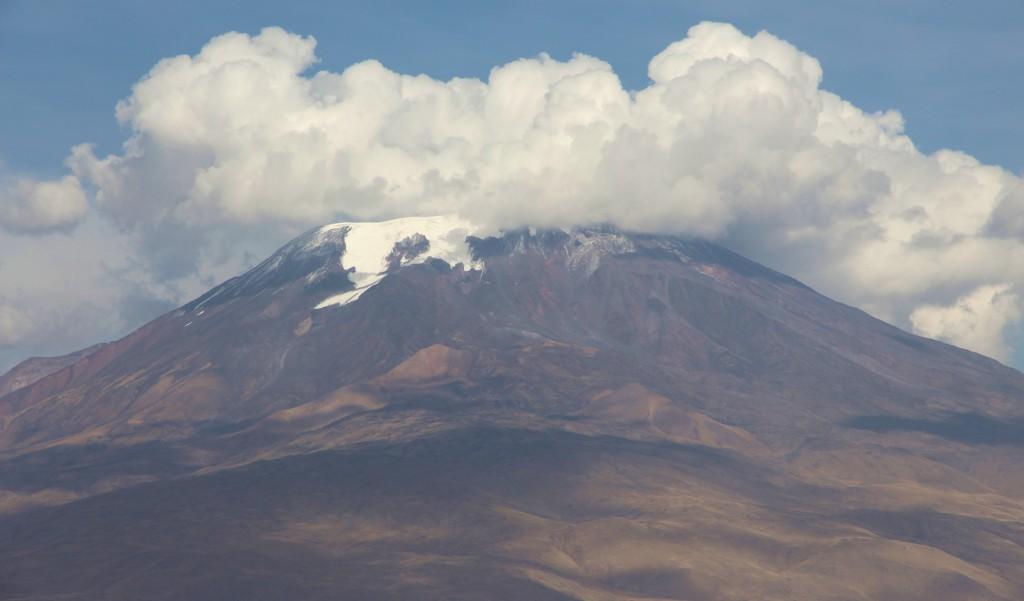 Der Ararat zeigt sich leider wolkenverhangen