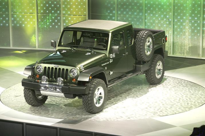Jeep Konzeptauto Gladiator
