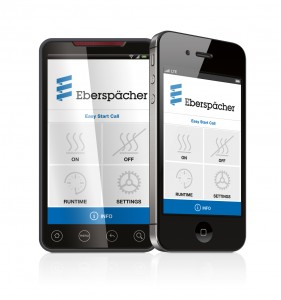 Eberspächer Smartphone App - EasyStart Call App