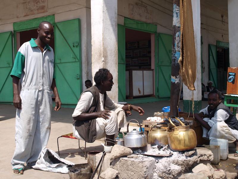 Kaffee und Tee-Stand an der Straße, Port Sudan