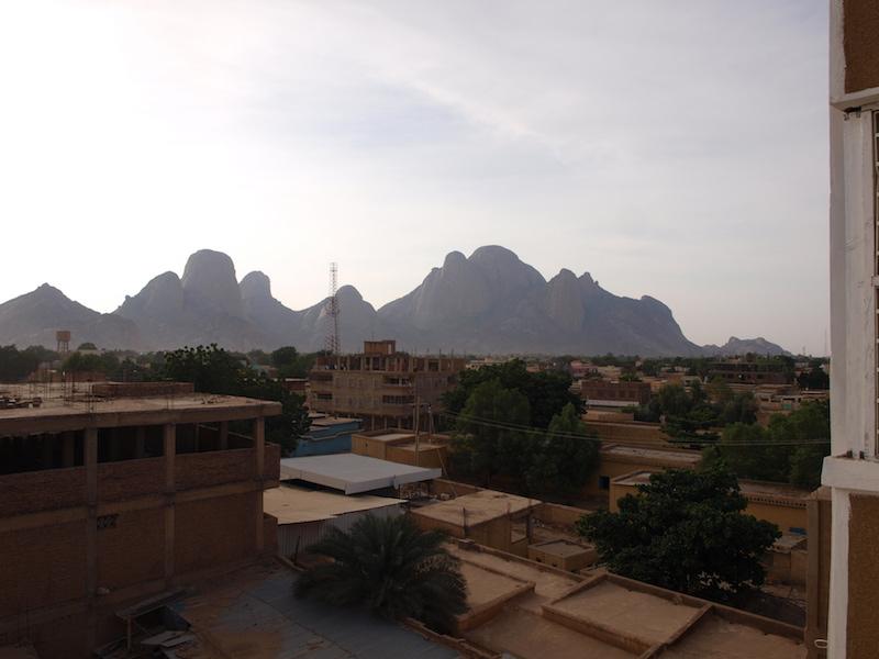 Über den Dächern von Kassala, Sudan