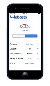 Webasto Smartphone App - ThermoCall 4