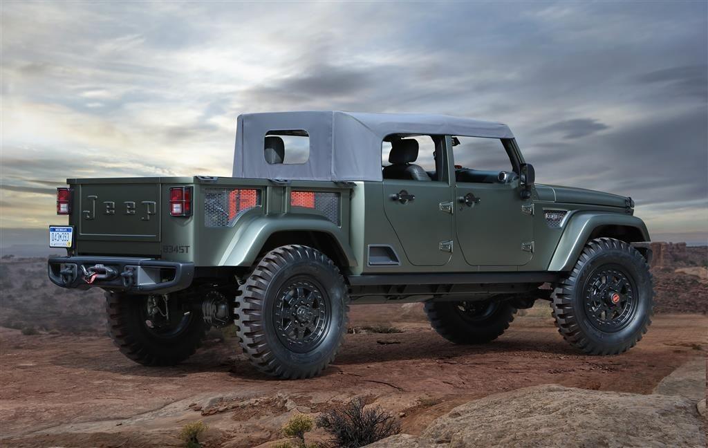 Jeep Crew Chief, Konzept 2016