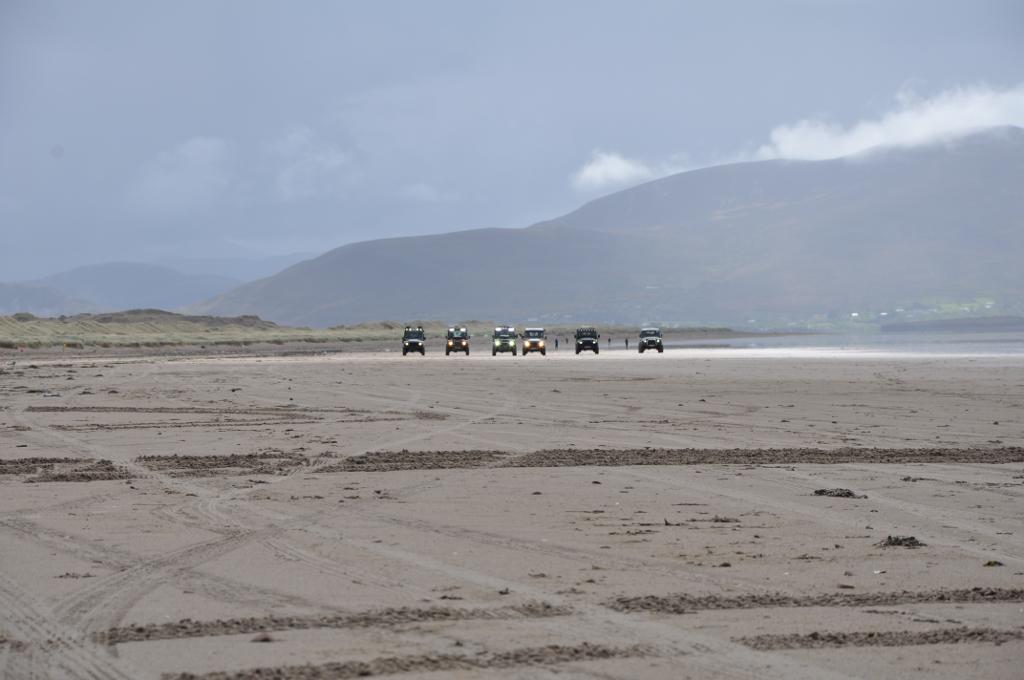 Landyfriends auf dem Strand