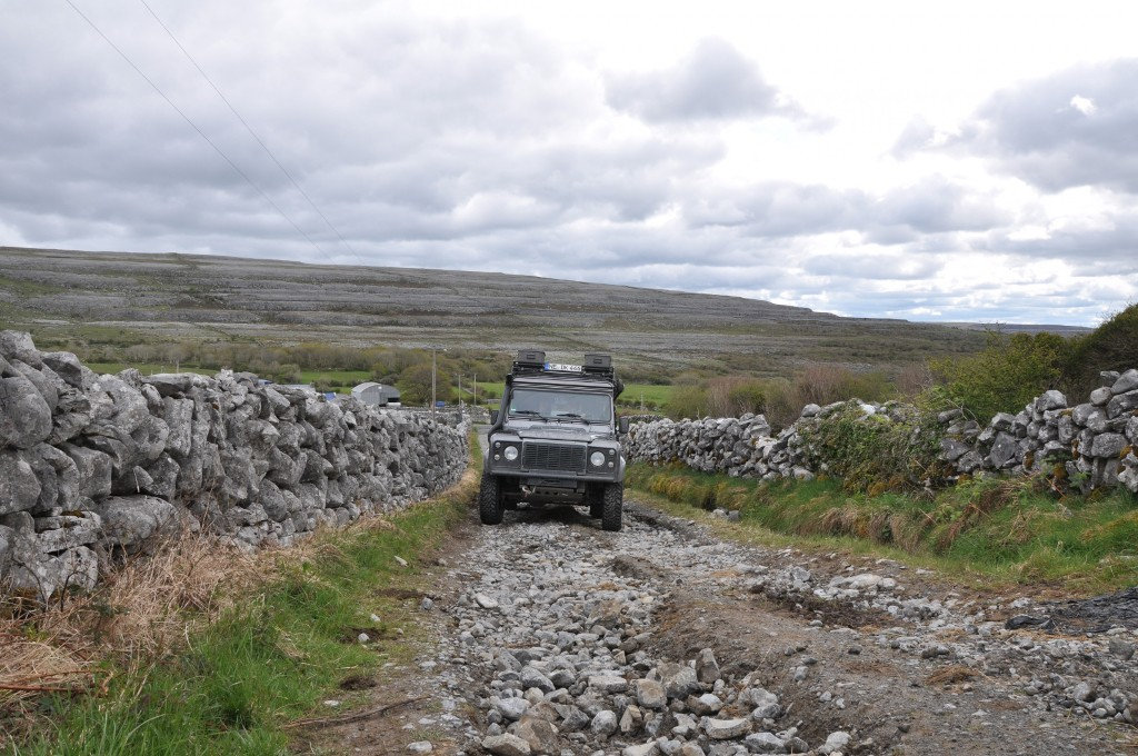 Auf den Burren