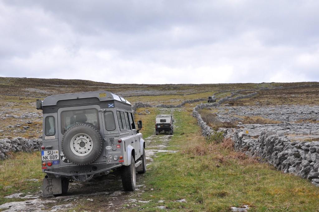 Über die Burren