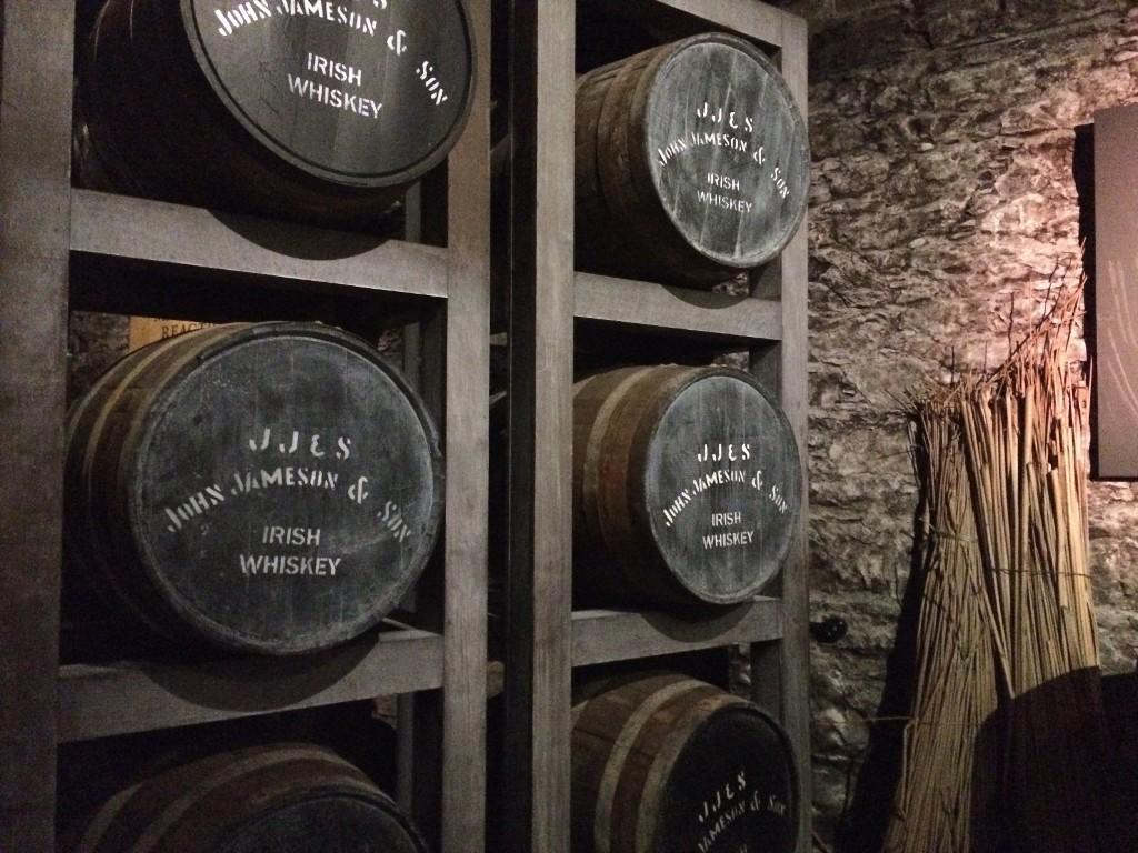 Lager der Jameson Destillerie