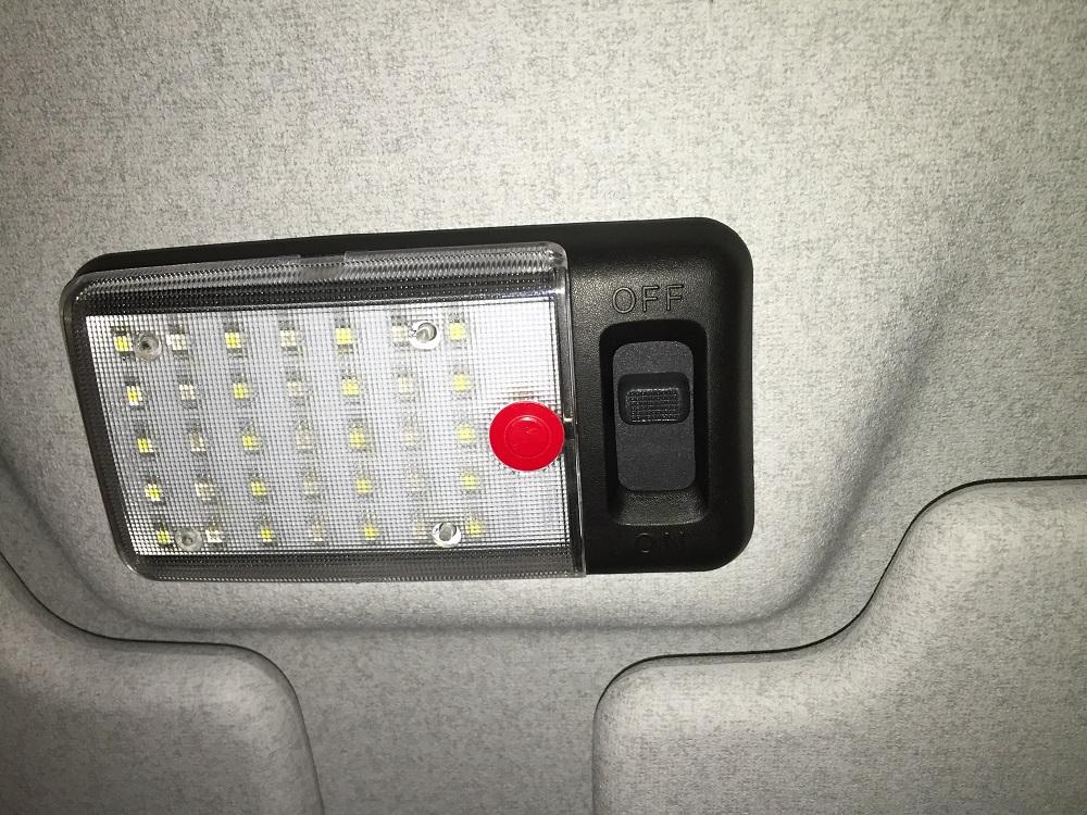 Nakatanenga, Land Rover Defender LED Innenraumbeleuchtung Hunter