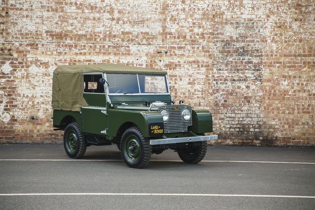 Car Zero, Land Rover Serie I Reborn-Initiative © Jaguar Land Rover