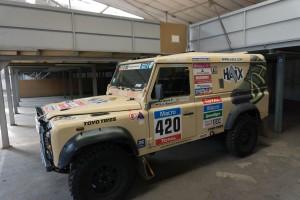 Der Dakar-Defender wartet auf seinen nächsten Einsatz