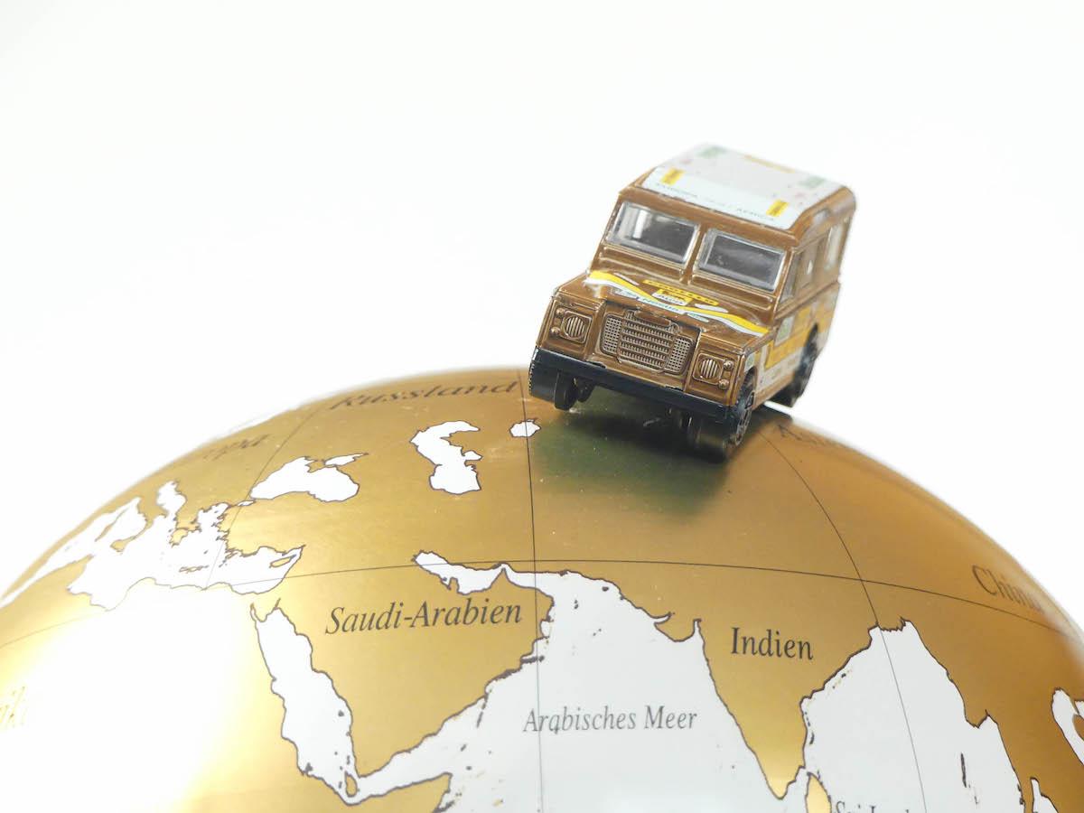Eine Weltreise planen