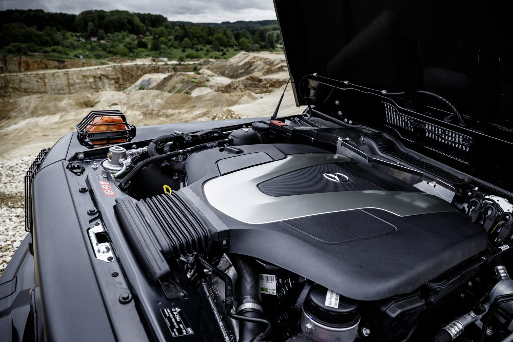 G 350 d Professional; V6-Dieselmotor, 180 kW (245 PS), 600 Nm