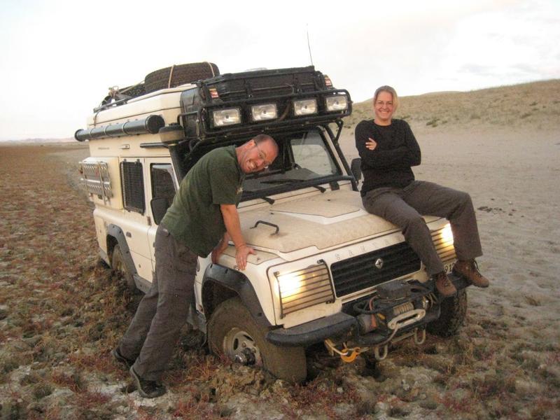 Feststecken im Schlamm, Mongolei