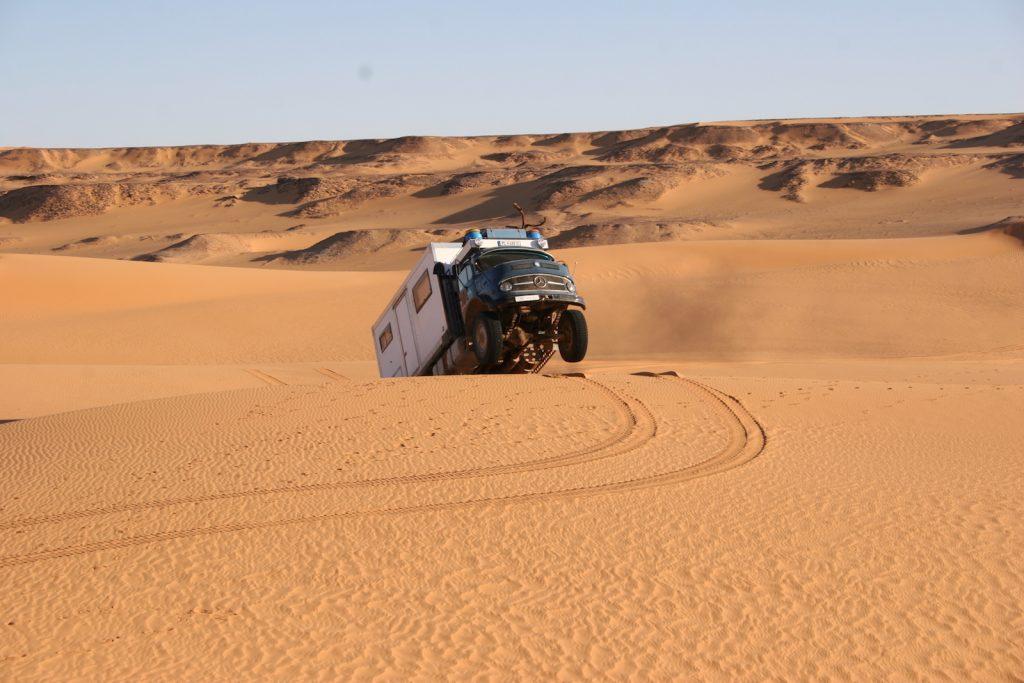 August auf nen Sprung in der Wüste, Lybien
