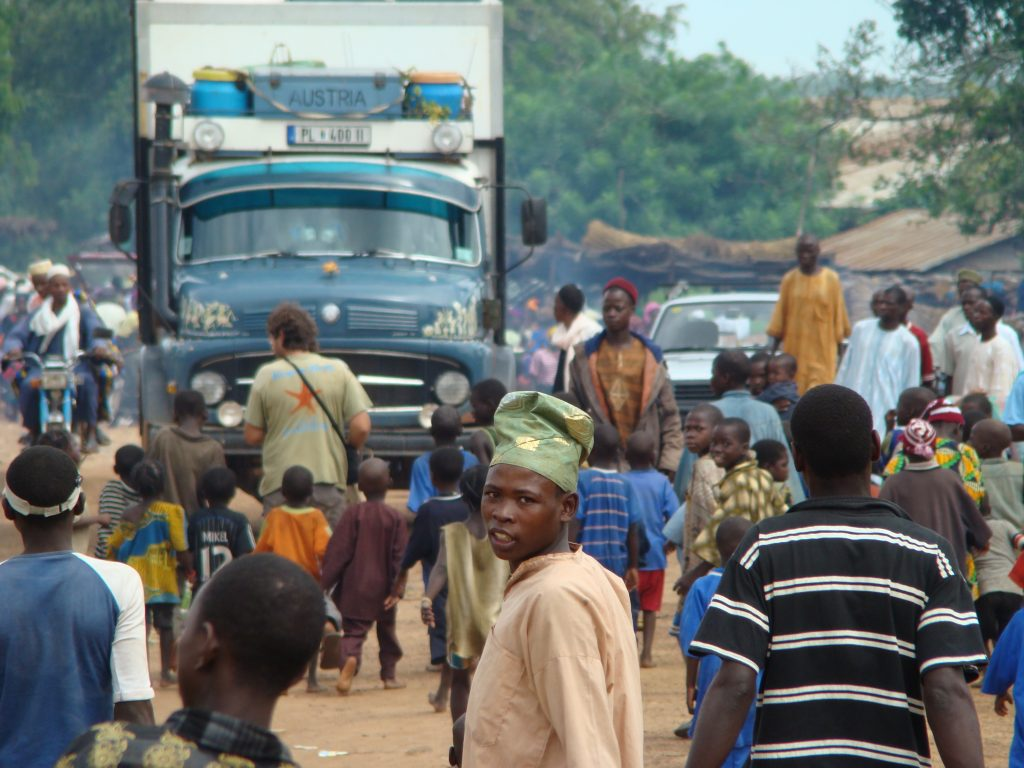 August der Reisewagen in Nigeria