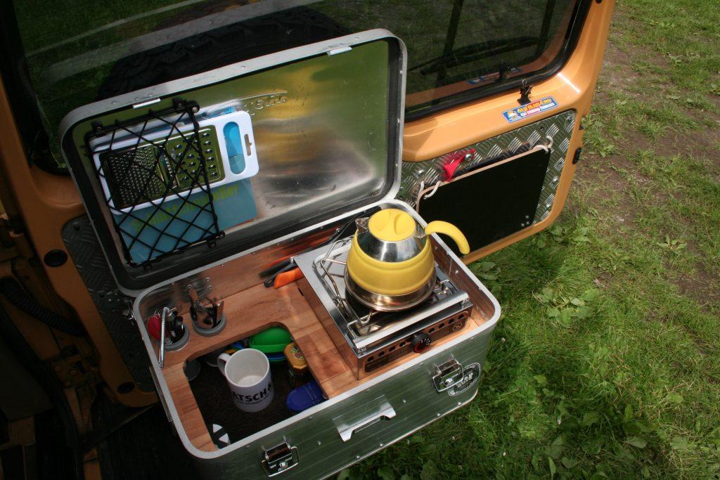 Outdoorküche Camping Outdoor : Kais kochkiste die kompakte campingküche für alle einsätze