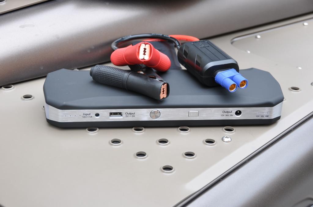 Crankagain Mobile Power Pack von RoughParts gibt es mit verschiedenen Anschlüssen