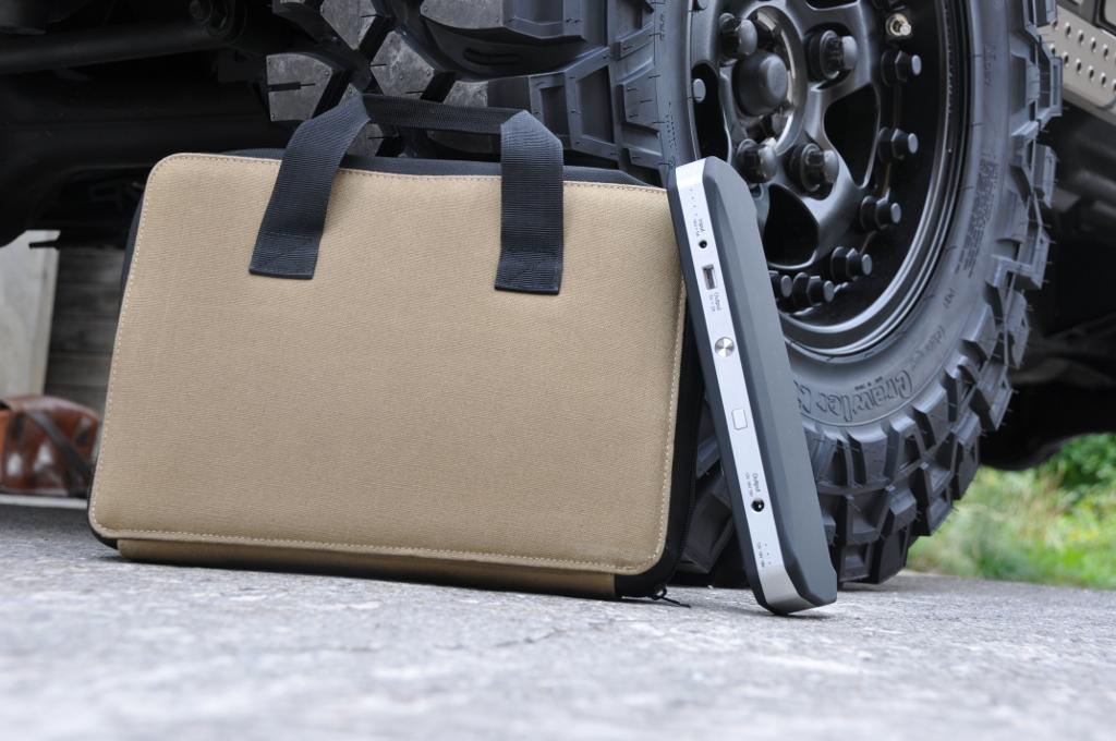 Tasche und Crankagain Mobile Power Pack