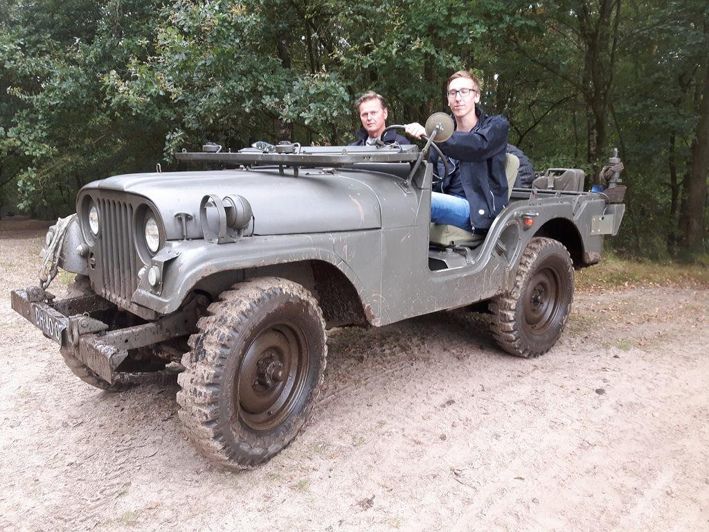 Ein altes Schätzchen: Willys JeepM38A1 von 1961. Terrein 2016.