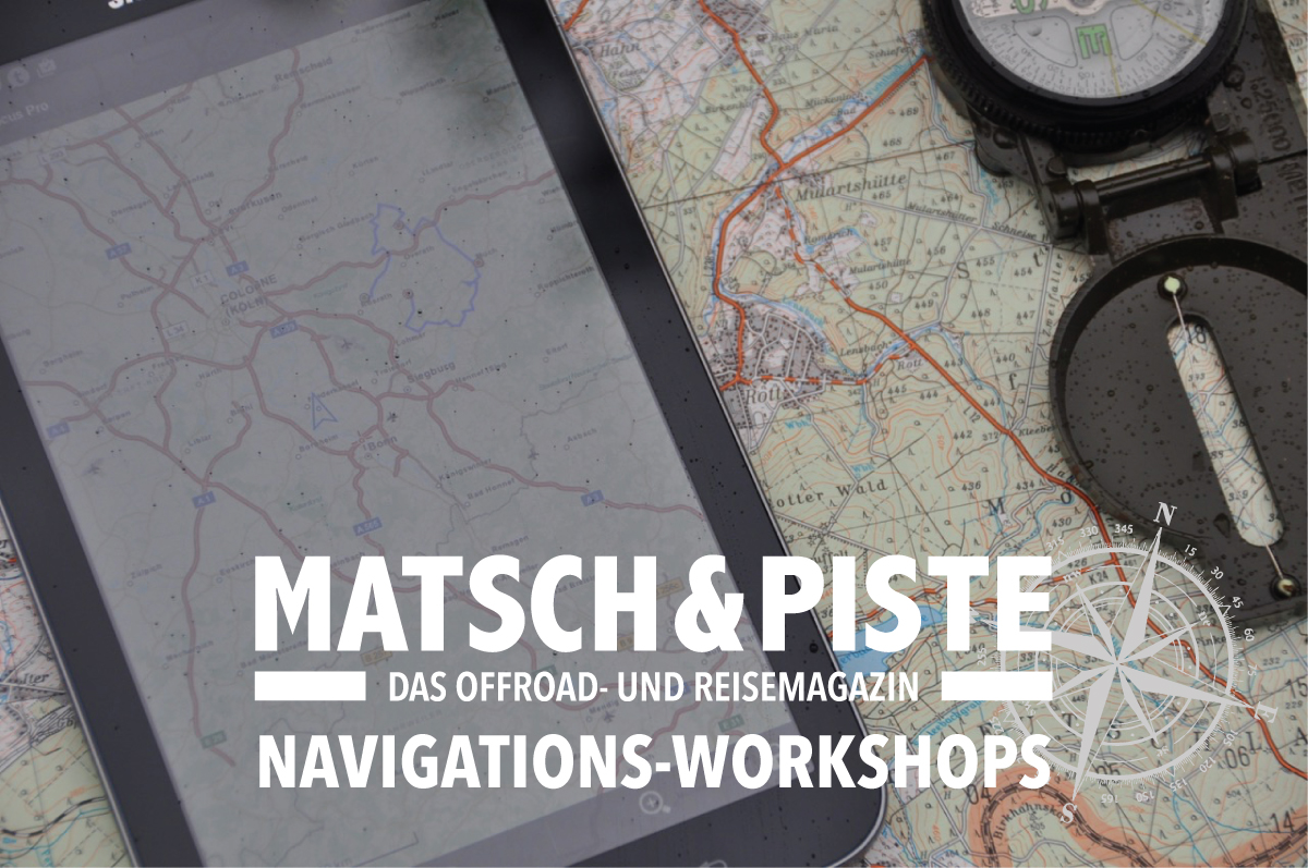 Matsch&Piste Navigationsworkshop