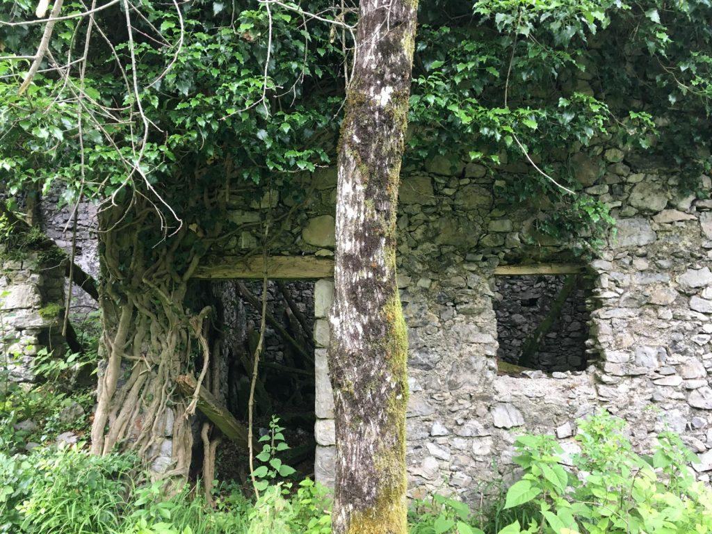 Ruinen am Lago di Cà Selva