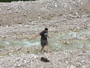Gletscherflüsse sind irgendwie doch kalt