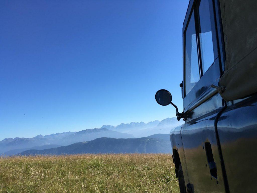 Auf dem Monte Lisser, Ostalpen
