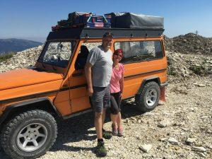 Frank und Biggi auf dem Monte Lisser