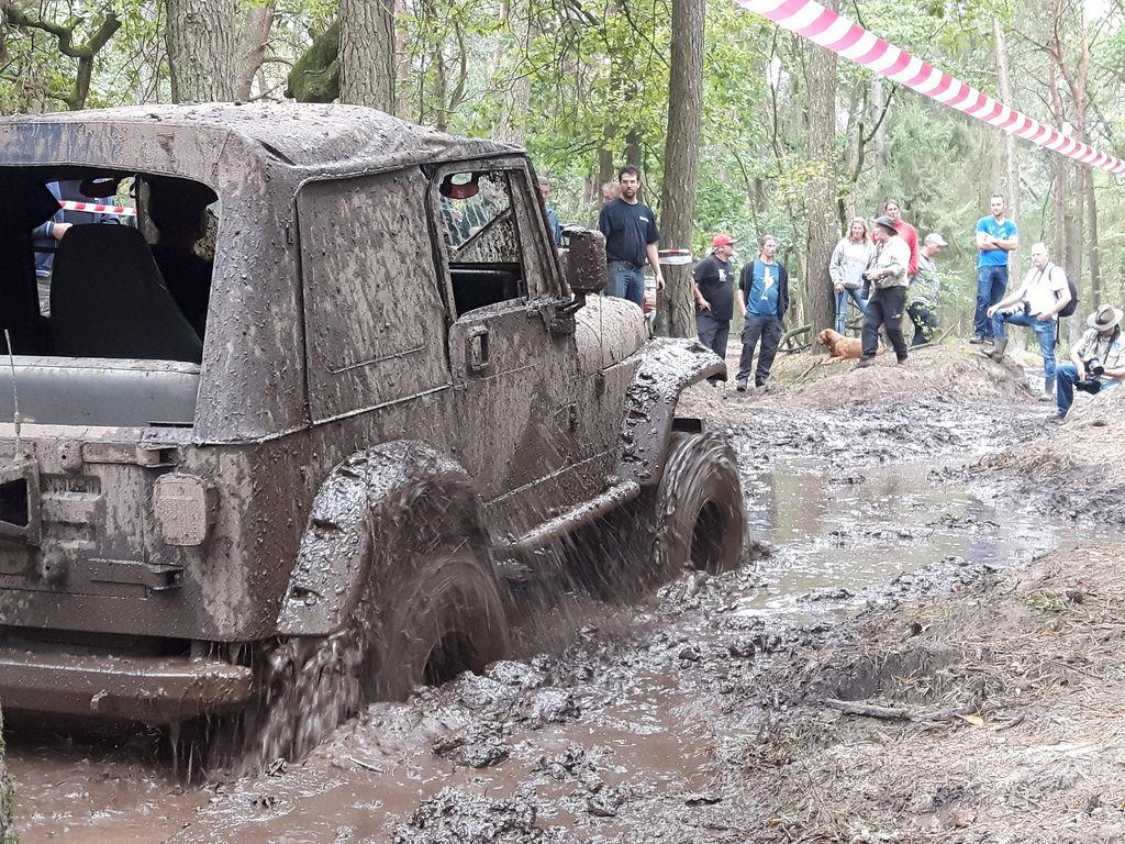 Der Mud-Cup im vollen Gange.