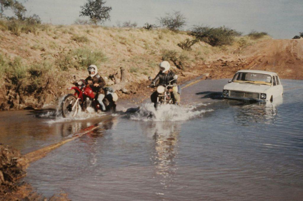 Mit dem Motorrad durch Australien