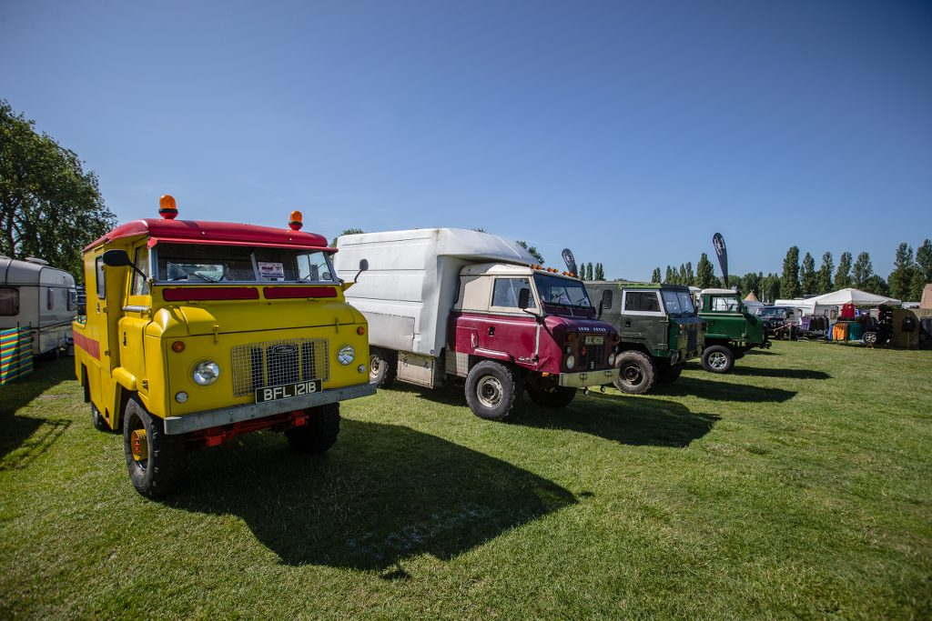 Billing Land Rover Show &copy Craig Dutton