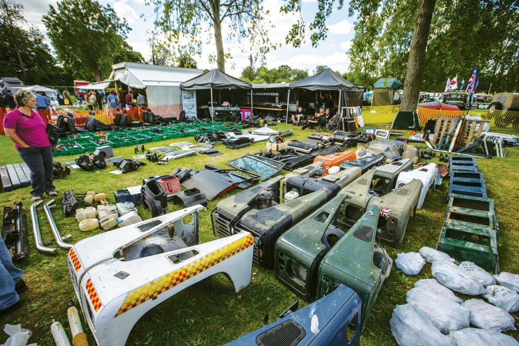Billing Land Rover Show &copy Craig Dutton