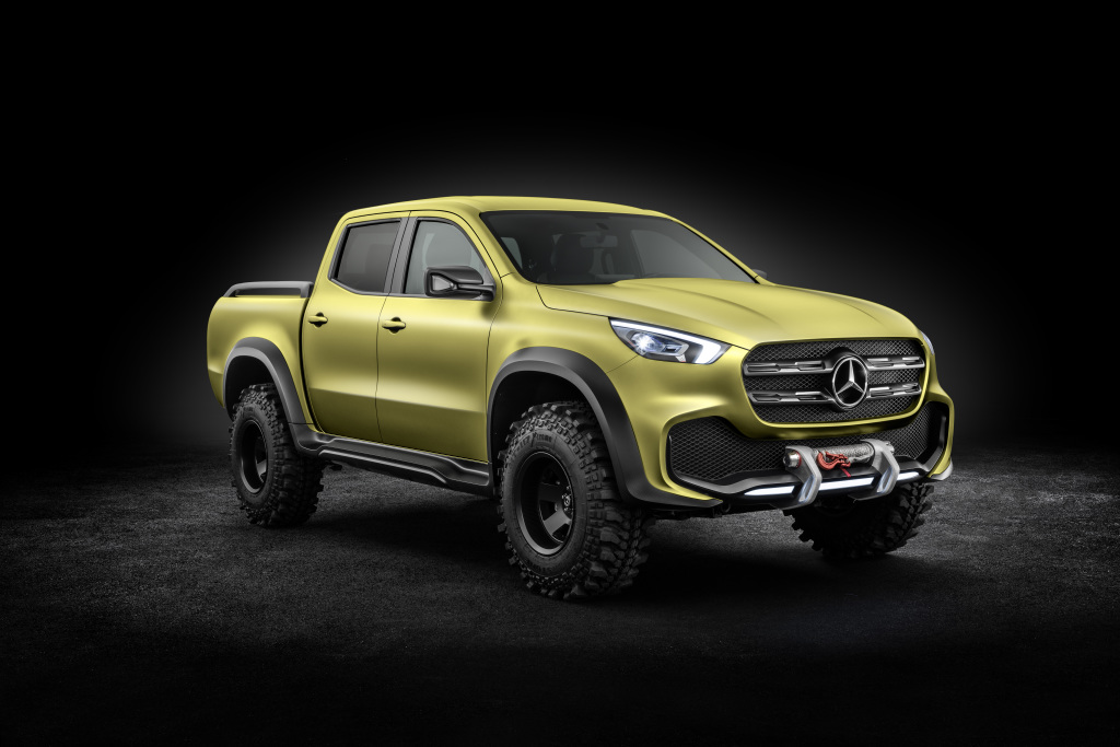 Mercedes-Benz Concept X-CLASS powerful adventurer – Exterieur, Lemonaxmetallic