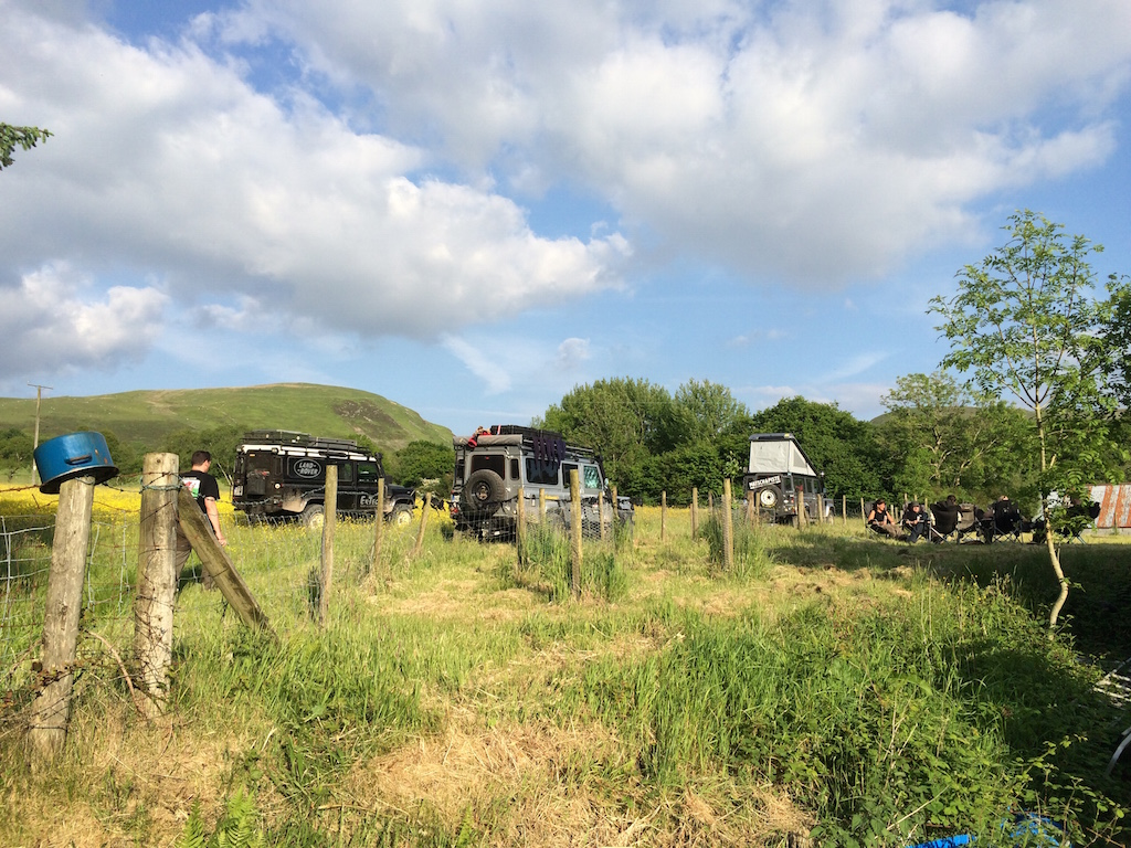 Wales - Unser Camp beim Dorfarzt.