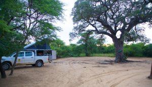 Khama Rhino Sanctuary bei Serowe, Botswana